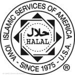 Logo de certification halal attribuée par Islamic Services of America (© Islamic Services of America)