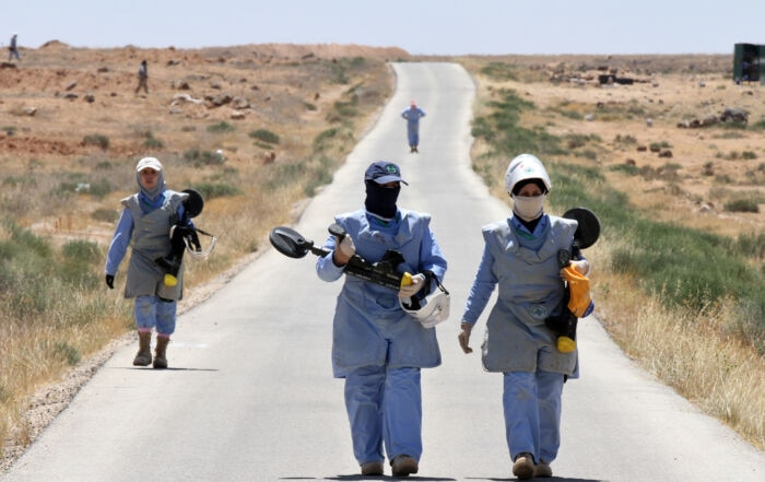 Clearing mines and rebuilding lives after conflict