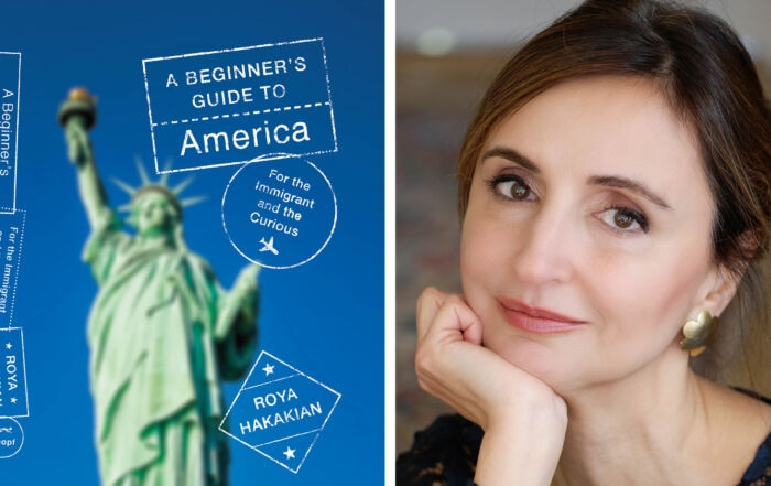 Roya Hakakian, a human rights activist, poet, author and naturalized U.S. citizen, shares memories of adjusting to life in America.