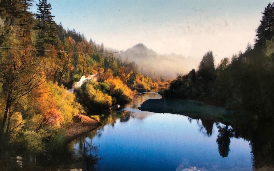 俄罗斯河一景(翻拍自俄罗斯河守护者公园展示牌)