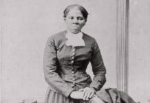 Portrait noir et blanc d'Harriet Tubman posant en photo (© Harvey B. Lindsley/ Library of Congress/AP Images)
