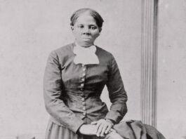 Harriet Tubman posando para fotografia (© Harvey B. Lindsley/Biblioteca do Congresso/AP Images)