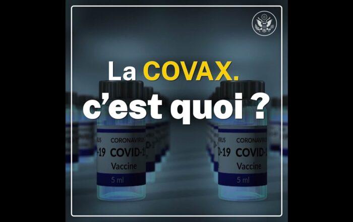 Les États-Unis et la COVAX soutiennent la vaccination contre la COVID-19 dans le monde entier [vidéo]