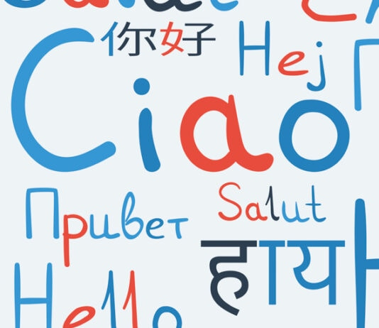 سلام به زبان های مختلف نوشته شده است (© Miaynata / Shutterstock)