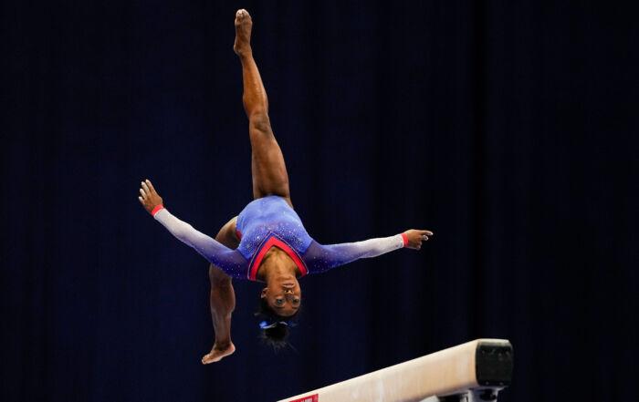 Meet Olympic gold medalist Simone Biles [poster]
