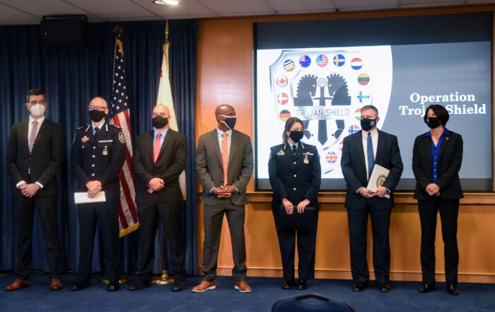 U.S. law enforcement works with counterparts worldwide