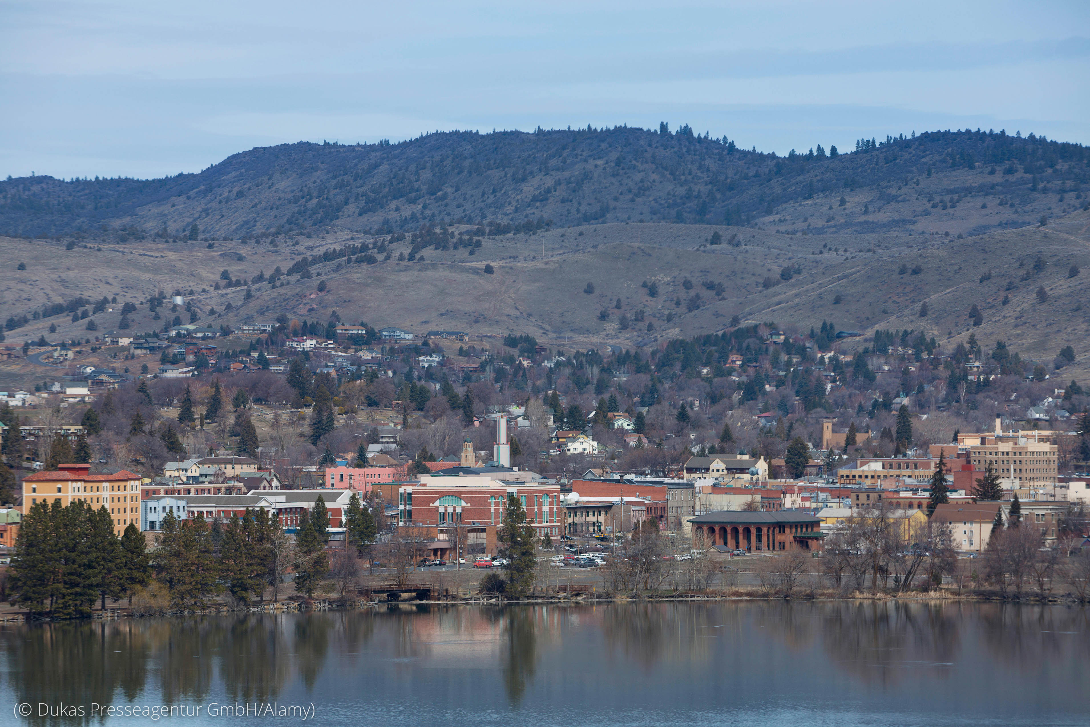 Klamath Falls, Oregon, adalah komunitas Zona Biru. (© Dukas Presseagentur GmbH/Alamy)