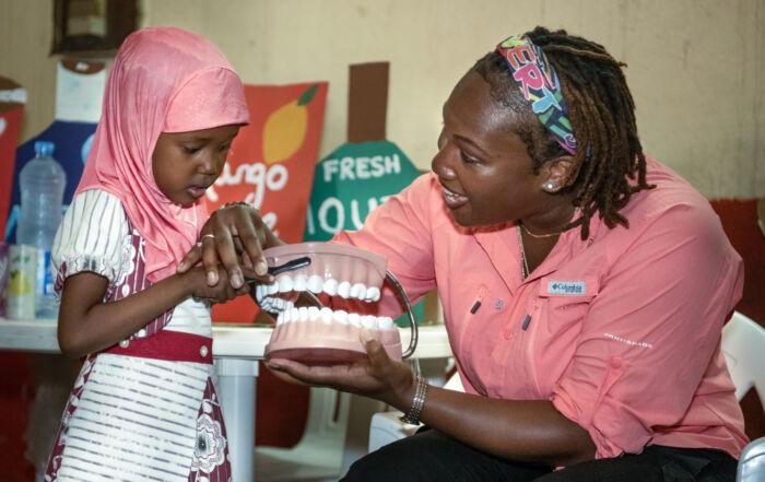 Bringing smiles and dental care to Djibouti