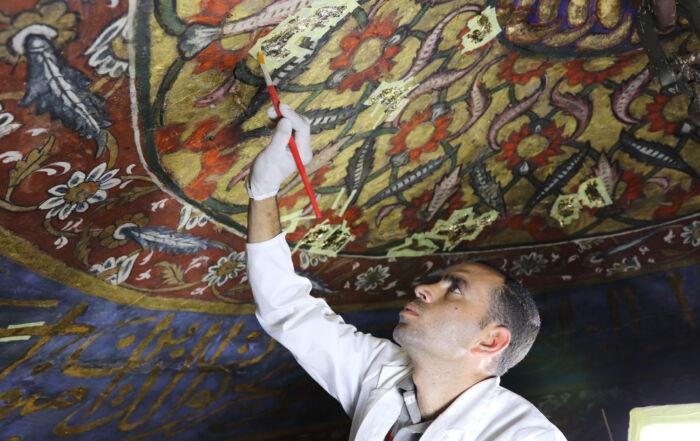 U.S., Egypt protect mausoleum in Historic Cairo