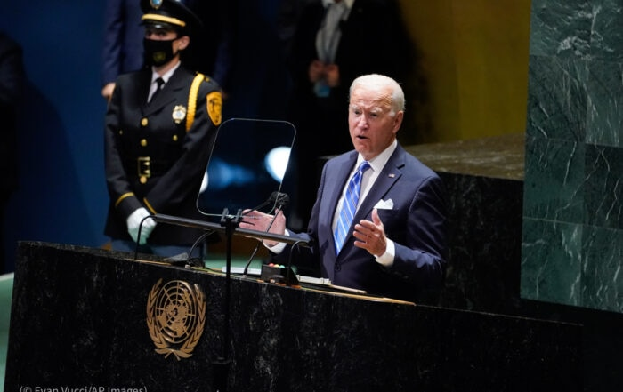 Biden: 'We must work together as never before'