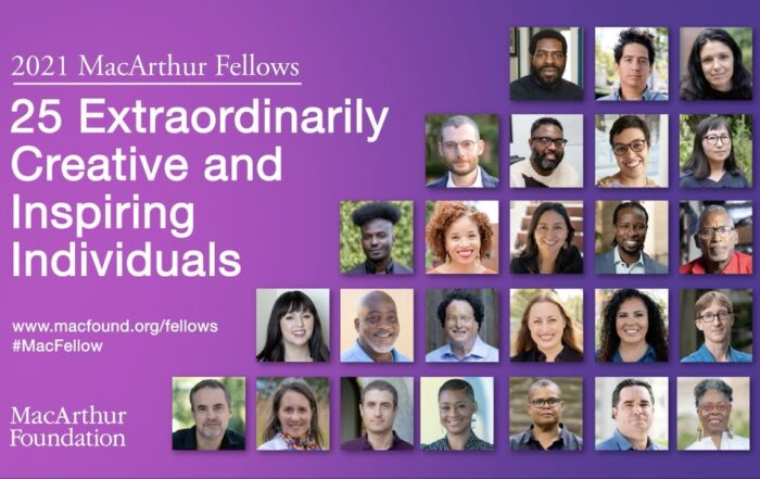 """The MacArthur Foundation announced the winners of its annual """"genius grants."""" Read about how the winners are using their creativity."""