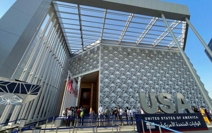 На выставке в Дубае США демонстрируют культуру, образование и инновации