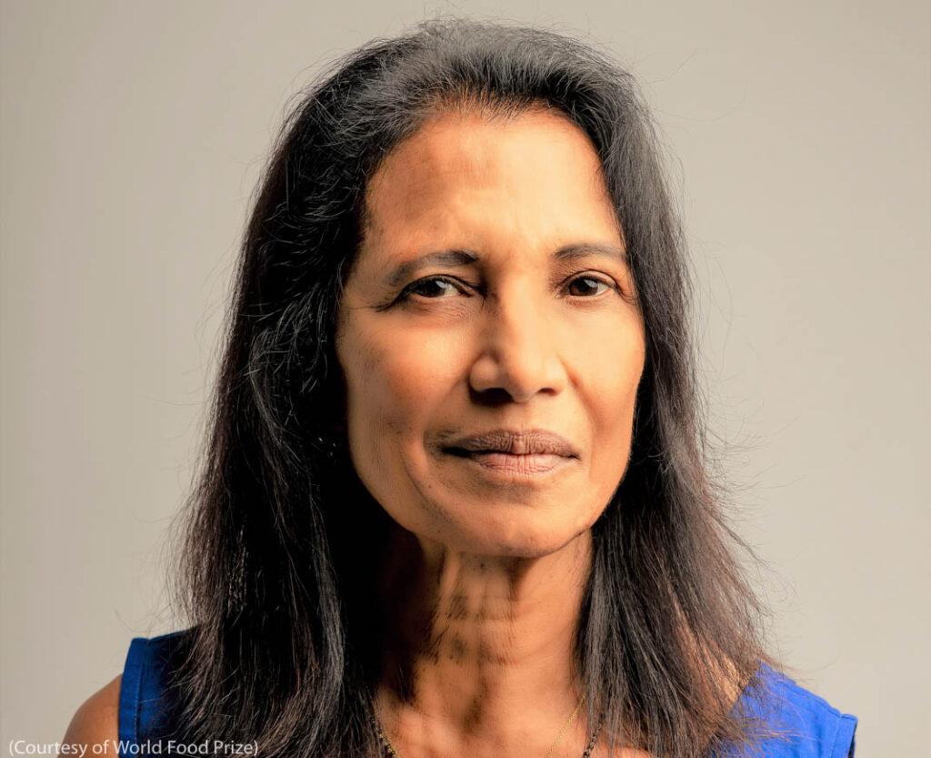 Headshot of Shakuntala Haraksingh Thilsted (Courtesy of World Food Prize)